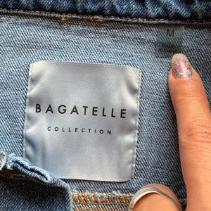 bagatelle Jackets & Coats - NWT Bagatelle Star Patch Denim Jacket